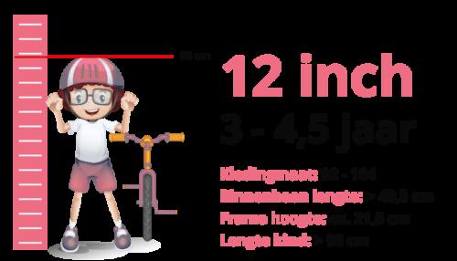 Meisjesfiets 12 inch
